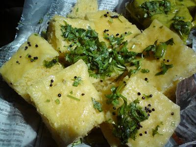 Flavors of gujarat sweet soft and fluffy khaman dhokla food forumfinder Images
