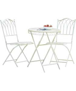 522a374ad7 Versailles Bistro Set - Antique Cream. | Things I would like for my ...