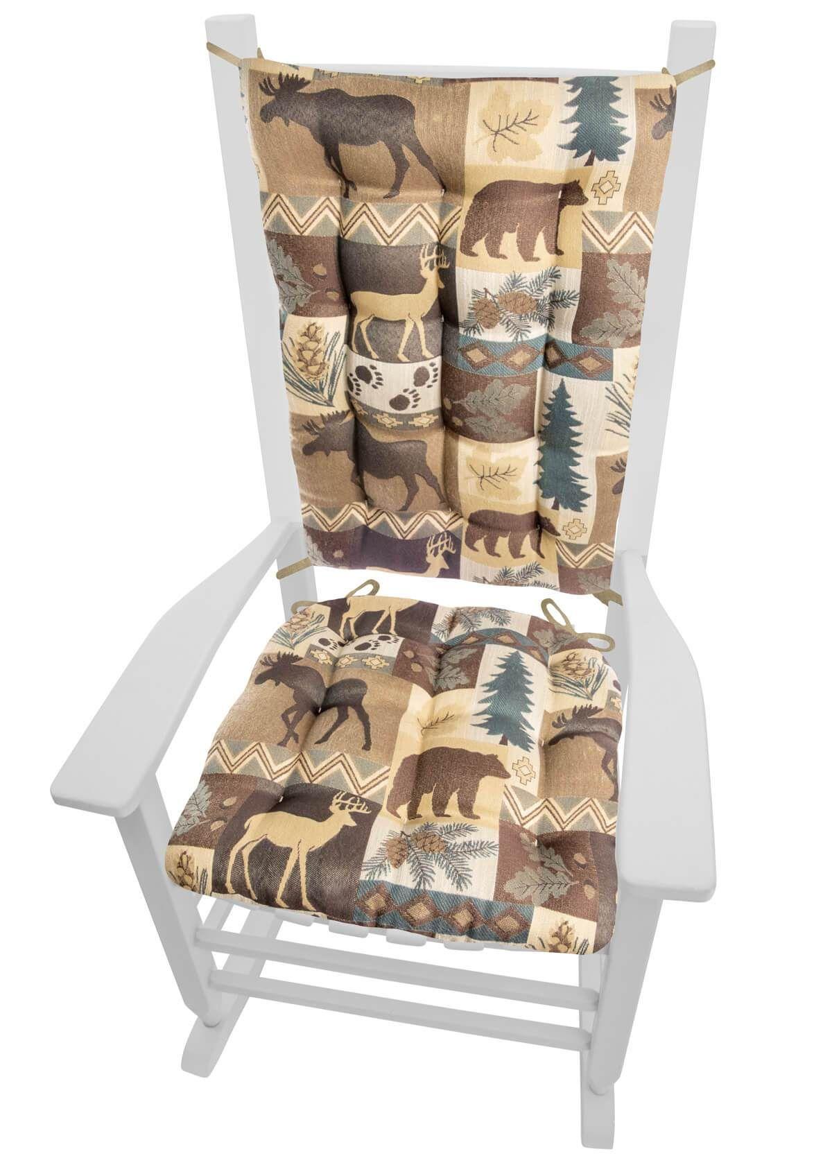 Prime Wilderness Summit Lake Rocking Chair Cushions Latex Foam Uwap Interior Chair Design Uwaporg