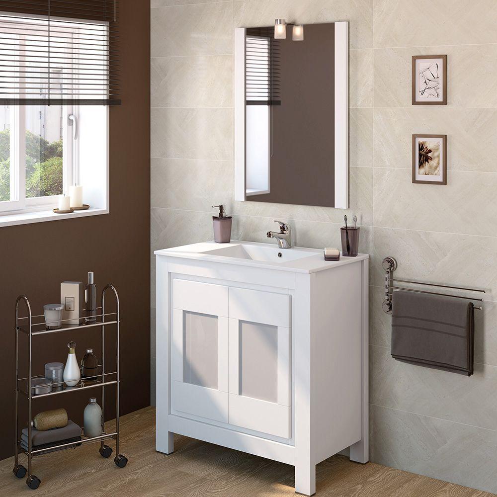 Mueble De Baño Versalles Ref 16716553 Leroy Merlin Bathroom Vanity Vanity Double Vanity