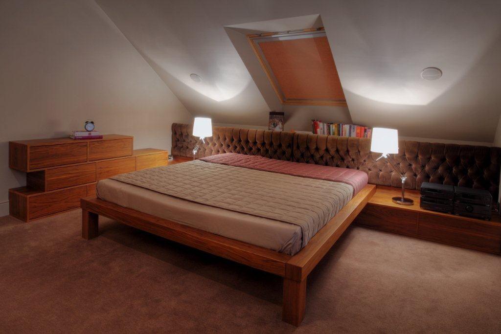 Duża Sypialnia Na Poddaszu Inspiracja Homesquare
