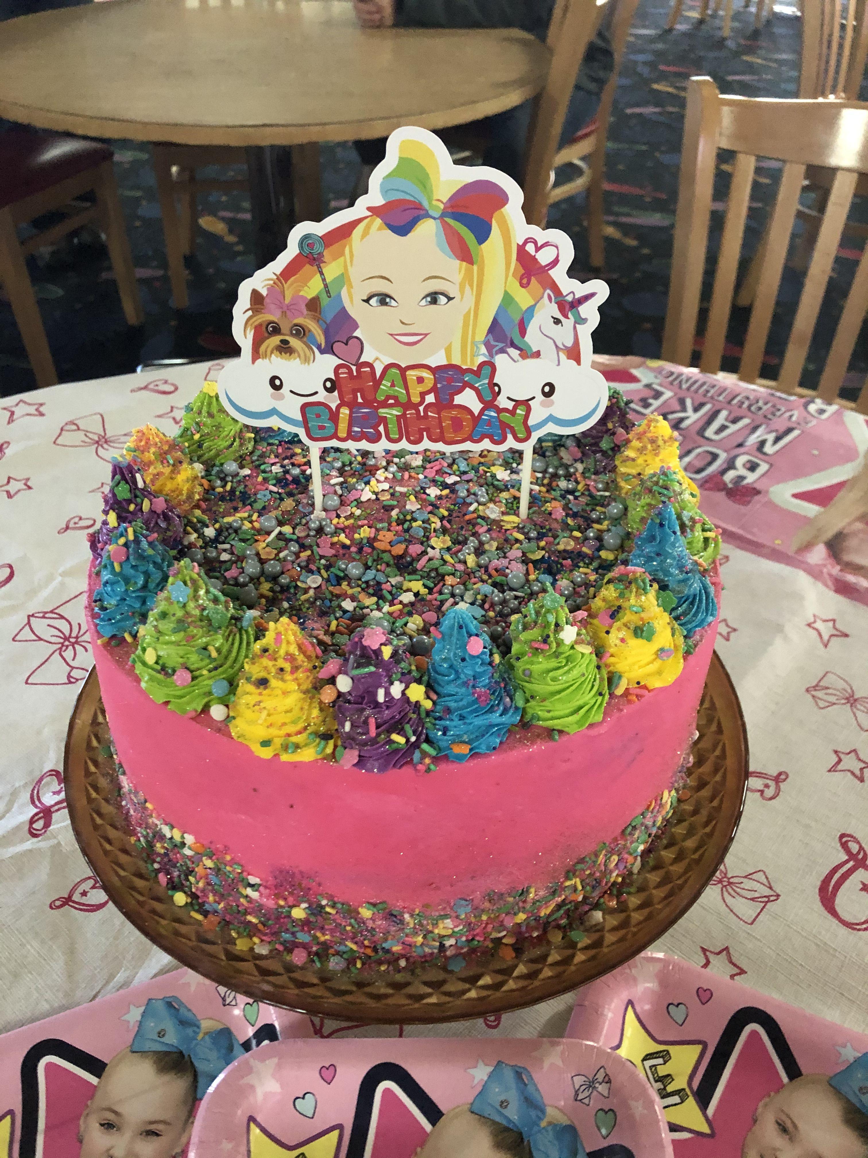Jojo siwa birthday cake in 2020 jojo siwa birthday cake