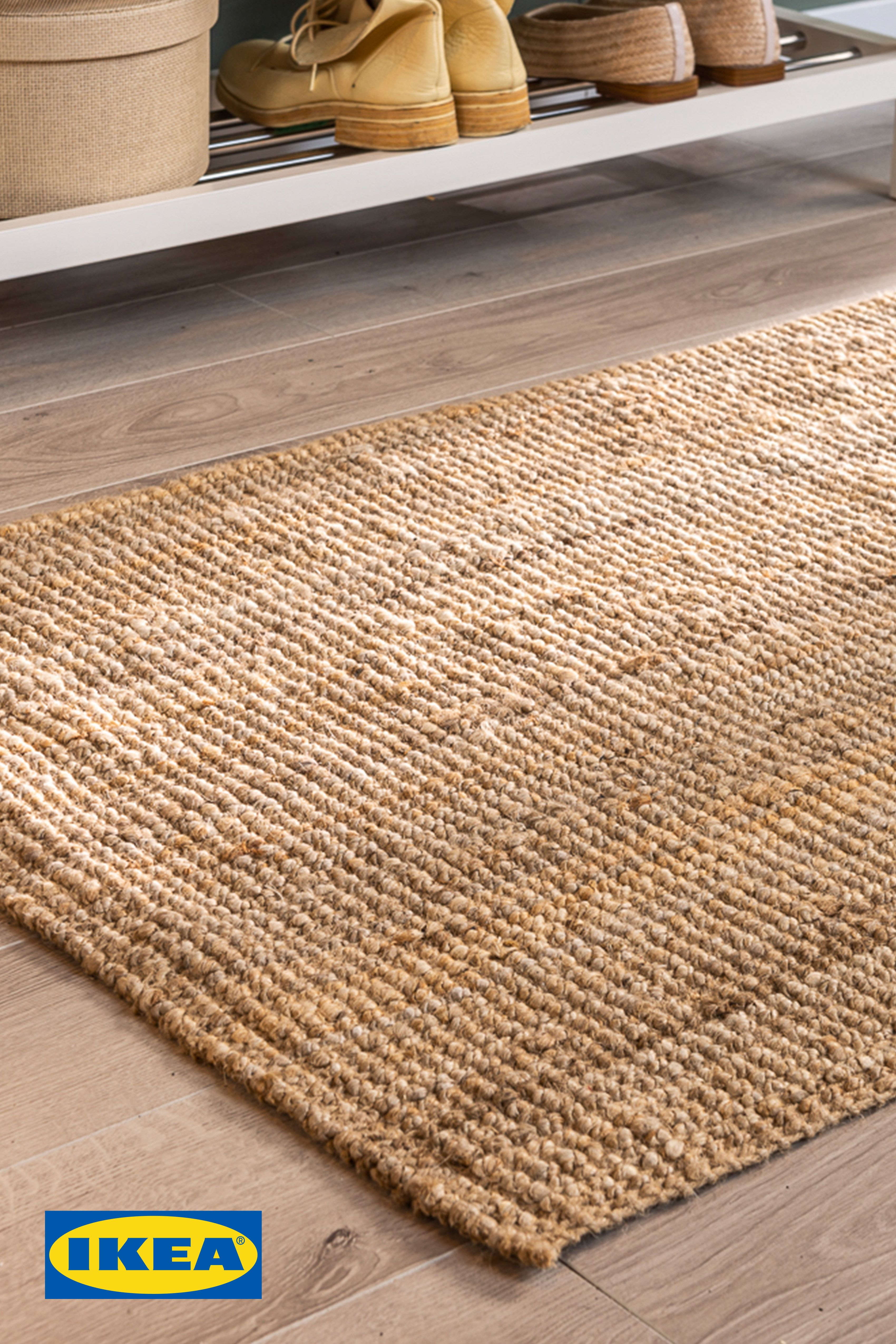 Lohals Rug Flatwoven Natural Ikea In 2020 Rugs Flatwoven How To Clean Carpet