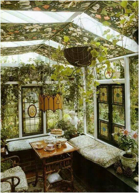 Pin de Lorie Spencer en Interiors   Pinterest   Invernaderos, Jardín ...