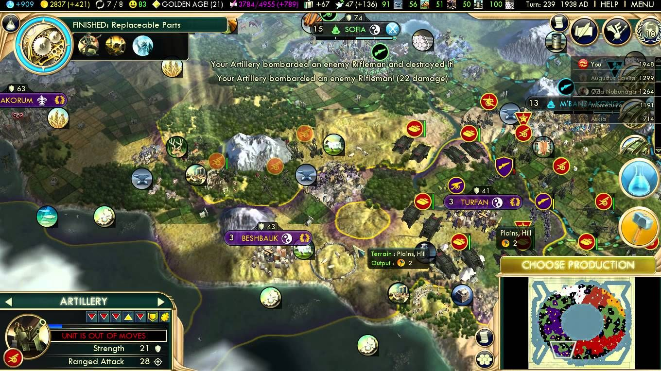 Civilization V Brave New World Persia Gameplay 7 | Video Games