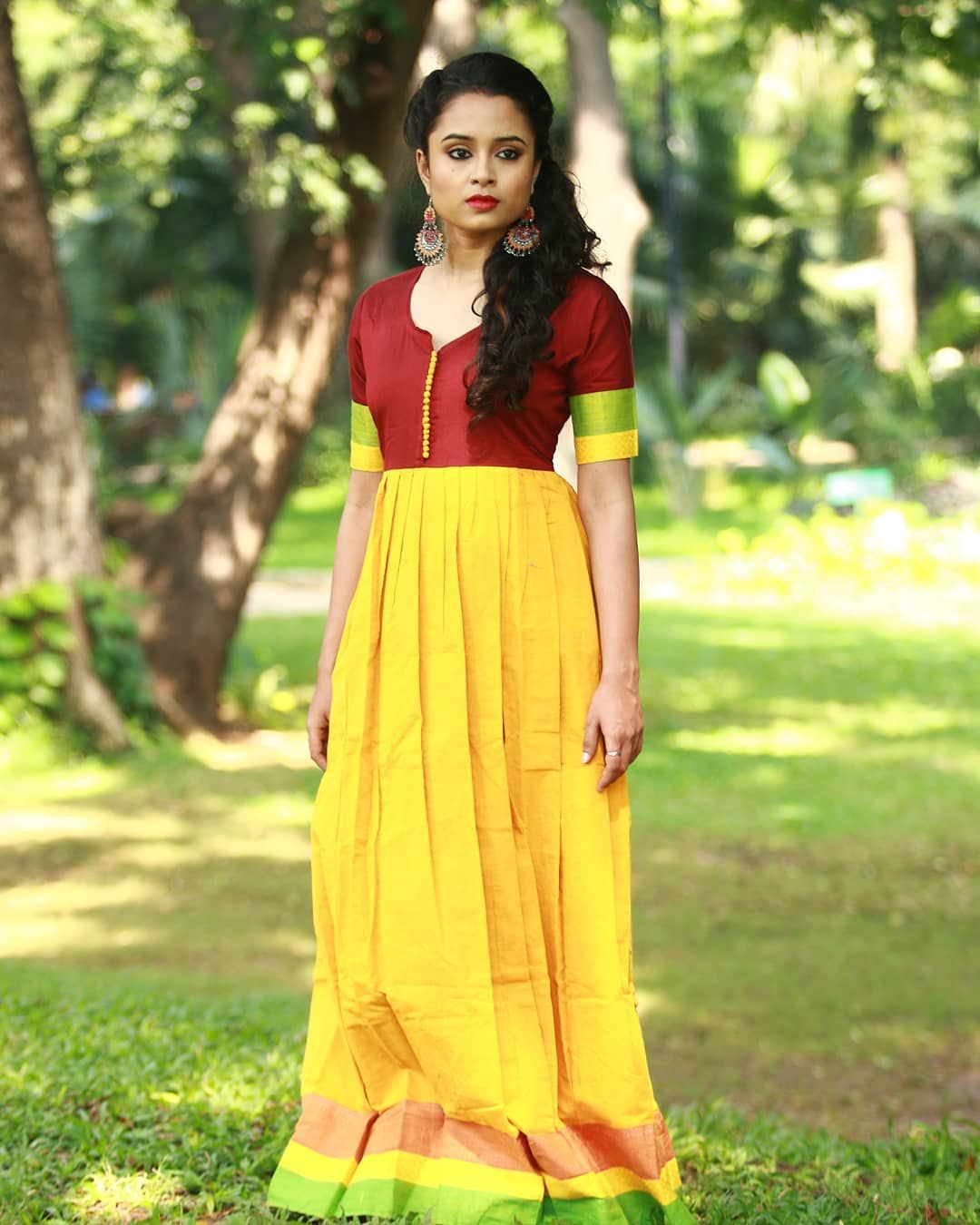 290fbc2833 Try These Traditional Maxi Dresses on Next Festival | Indian Maxi ...