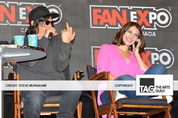 Fan Expo 2014: 'The Walking Dead' Cast Descend on the Expo - The Arts Guild