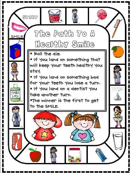 1st Grade Hip Hip Hooray!: Dental Health ... Freebie and ...