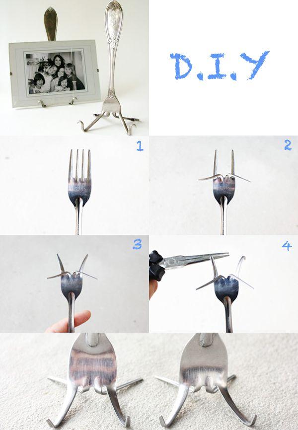 Fork picture holder, brilliant idea