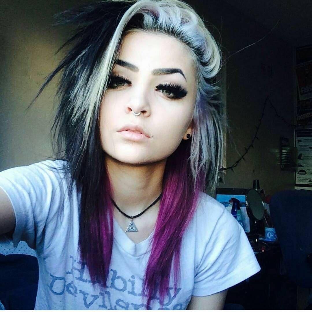 Featurin Emo Hair Color Alternative Hair Hair Styles