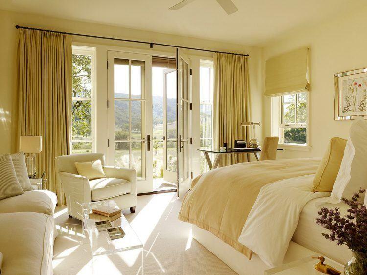 Yellow bedroom Door - 10 Beautiful Master Bedrooms with Yellow Walls images