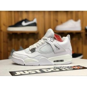 online retailer aefca 5c978 Air Jordan 4 Pure Money Aj4 White Siliver Pure White All White 308497-100  Men Shoes Discount, Price   87.95 - KAWS X AIR JORDAN 4 - KAWSShoes.com