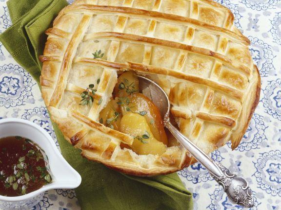 Gedeckter Apfelkuchen ist ein Rezept mit frischen Zutaten aus der Kategorie Apfelkuchen. Probieren Sie dieses und weitere Rezepte von EAT SMARTER!