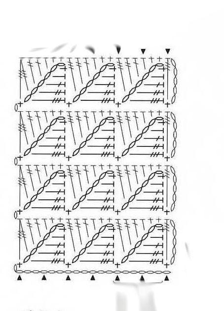 crochet stitch chart | Crochet Stitch - Chart | Crochet Diagrams ...