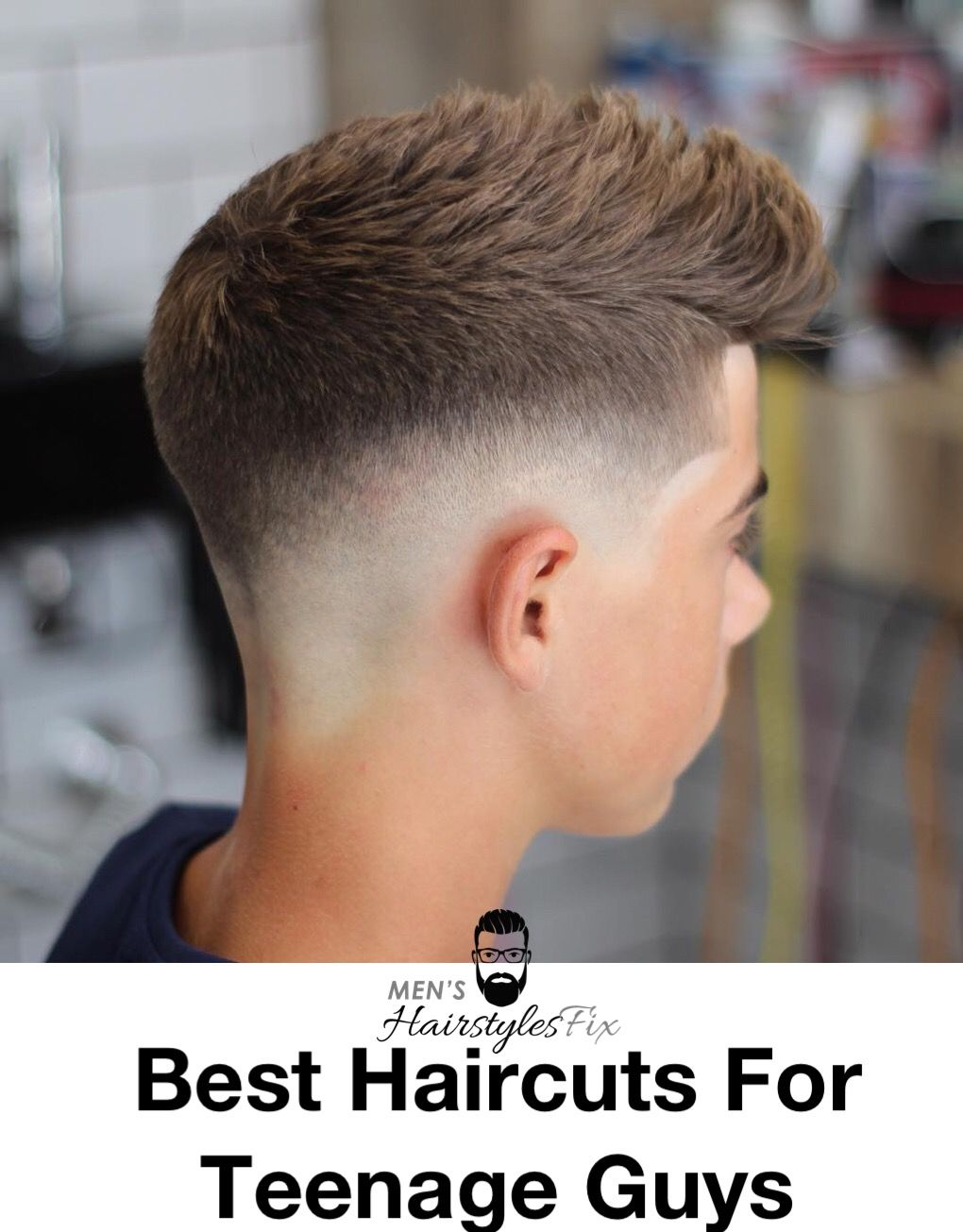 Haircut styles short on sides long on top  cooler than ever haircuts for teenage guys  hairstyle