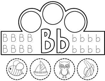 Dual Language Alphabet Crowns: Beginning Sound Crowns in
