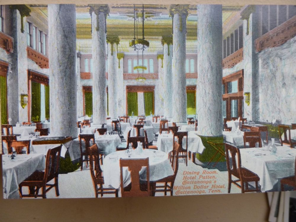 Early 1900s Dining Room Hotel Patten In Chattanooga Tn Tennessee
