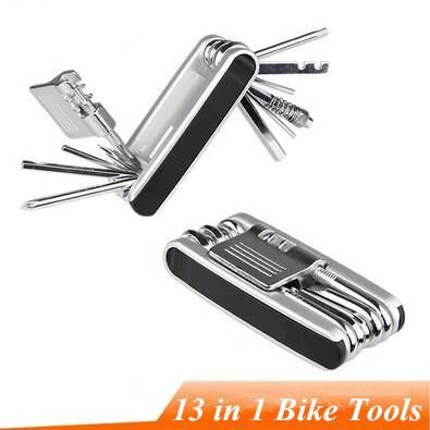 Bicycle Tool 13 in 1 Combination Toiletry Kit Mountain Bike Bicycle Combination Repair Tools