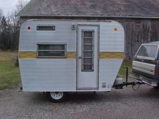 1980 Krown 10 Foot Camper For Sale Little Vintage Trailer