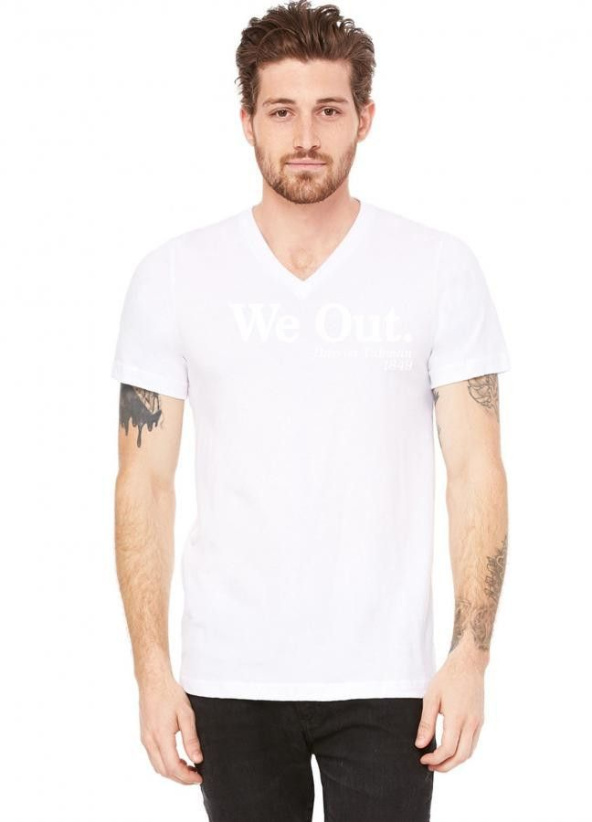 We Out Harriet Tubman 1849 V-Neck Tee