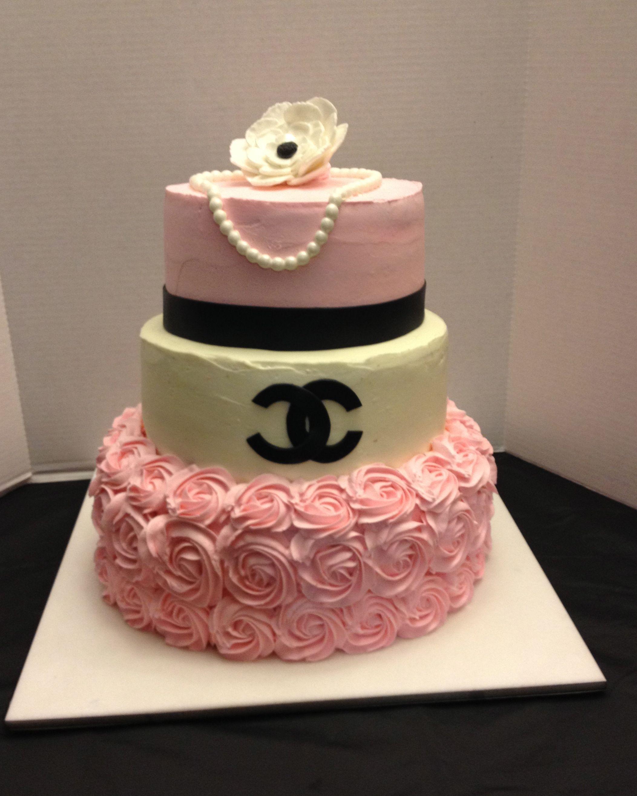 Chanel Cake Designs: Coco Chanel Party