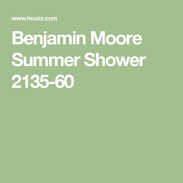 Benjamin Moore Summer Shower 2135-60