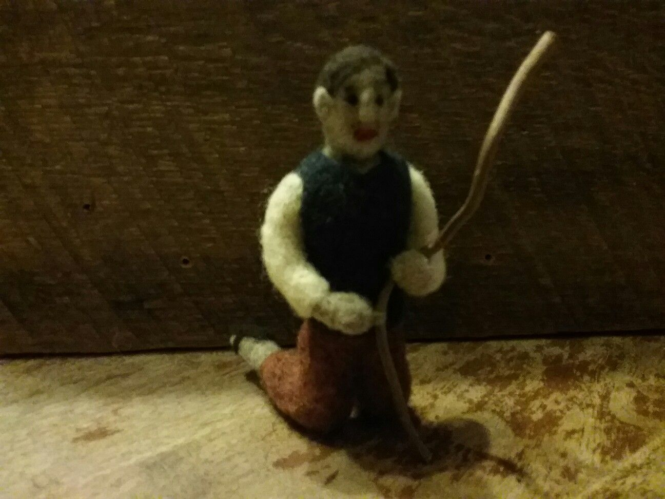 Gins felted shepherd  967