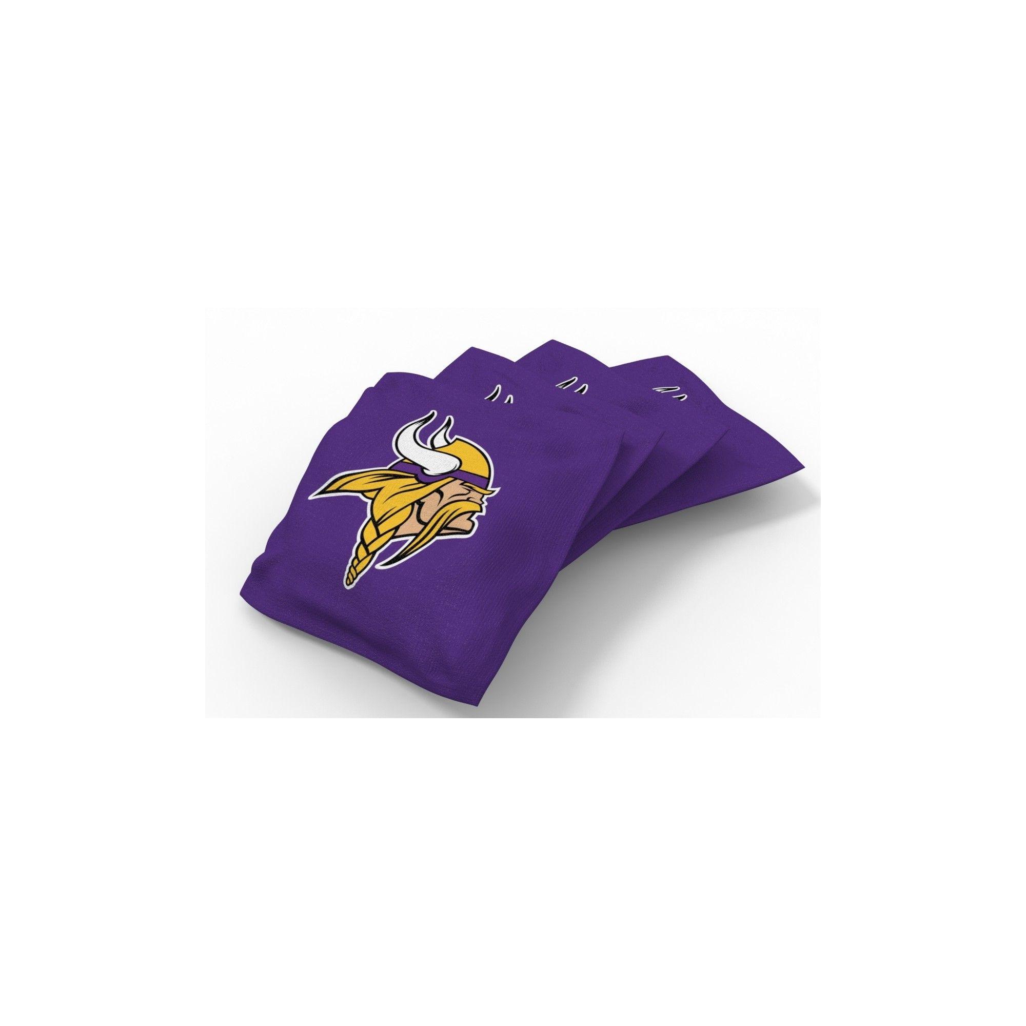 Sensational Nfl Minnesota Vikings Wild Sports Regulation Cornhole Bean Dailytribune Chair Design For Home Dailytribuneorg
