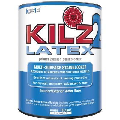 Kilz 2 All Purpose 1 Qt White Interior Exterior Multi