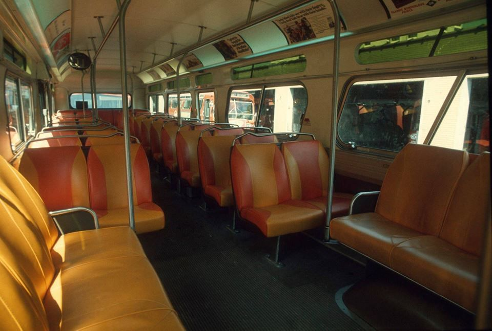 From Steven Carlyle Moore Inside Empty City Bus 1970 S Photo