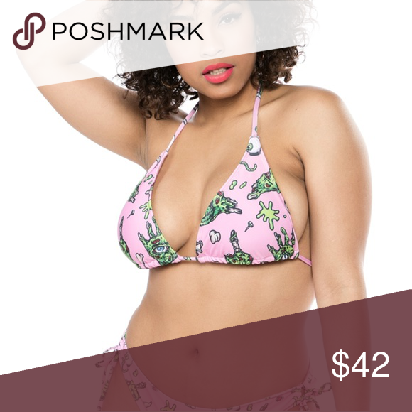 186f53daa3f Sourpuss Zombabe String Bikini You'll be the coolest ghoul at the pool in  our