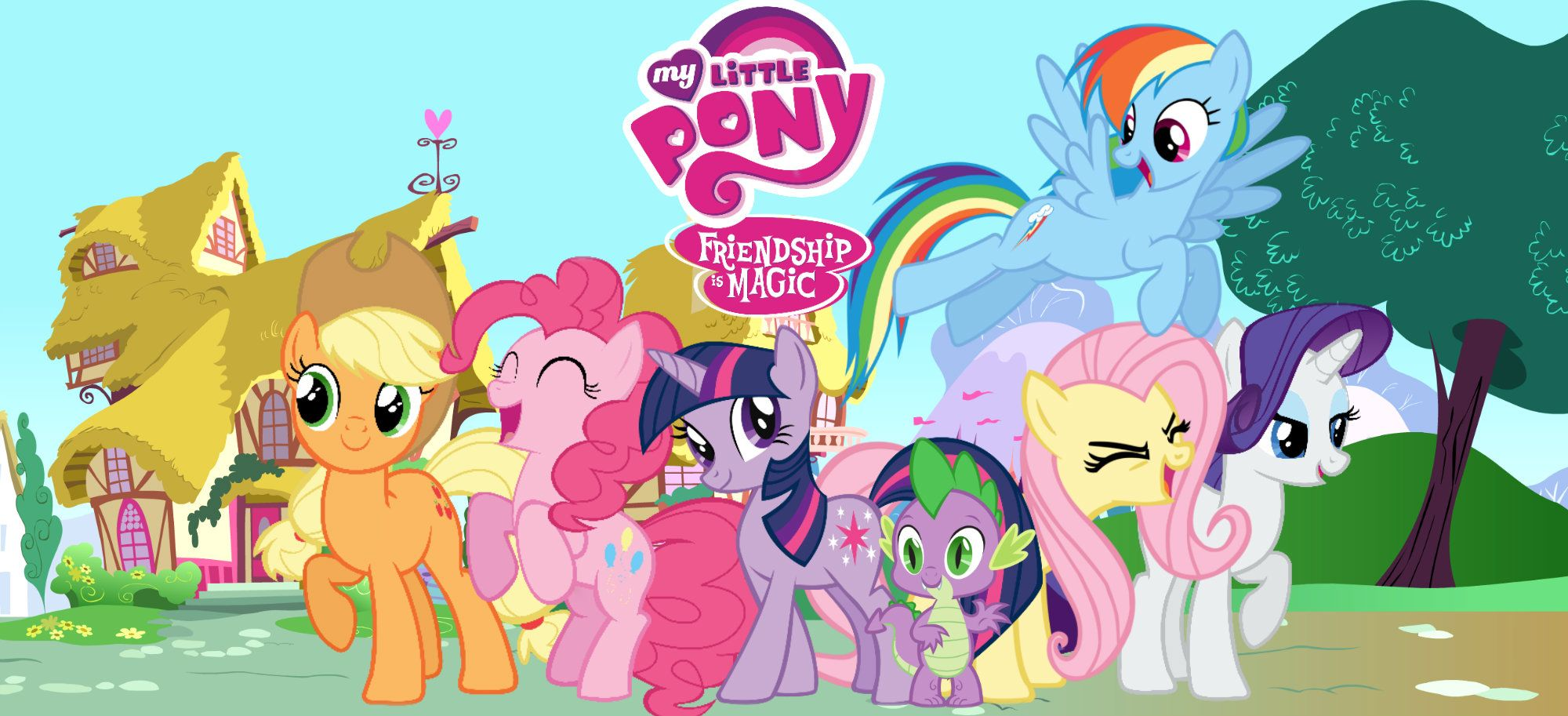 My Little Pony Friendship Is Magic Wallpaper By Nazizombieskiller