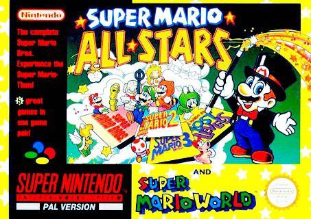 Super Mario All Stars Consoles Jogos