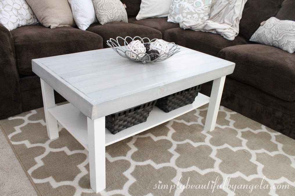 Simply Beautiful By Angela IKEA Lack Coffee Table Hack Projects - Angela coffee table