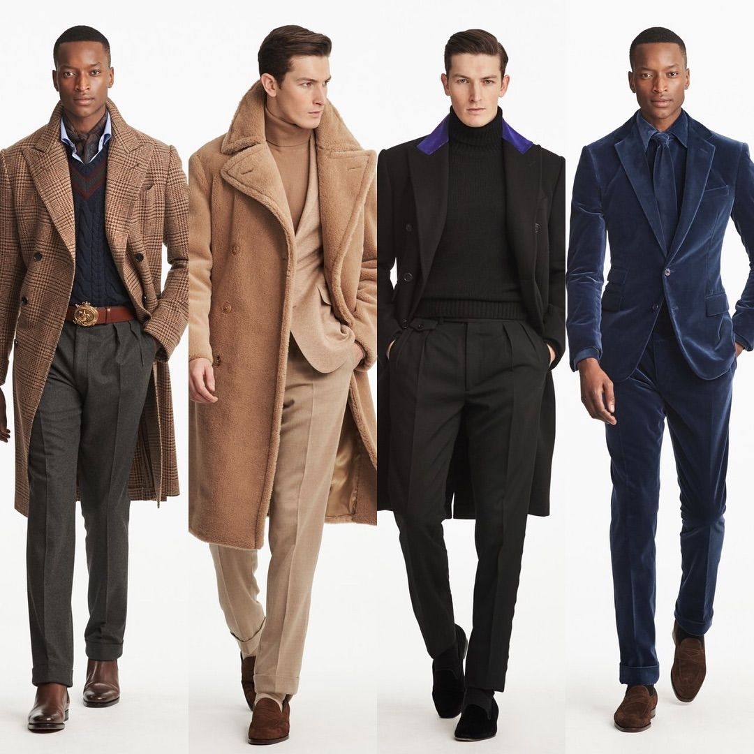 Ralph Lauren Purple Label Men's Fall 2019 In 2020