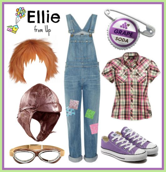 Ellie from UP costume! Disney bounding | spooky | Themed