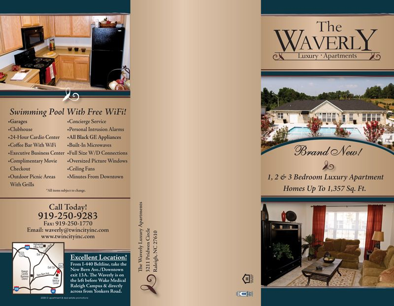 Apartment Complex Brochures Google Search Graphic Design Unique Apartment Brochure Design