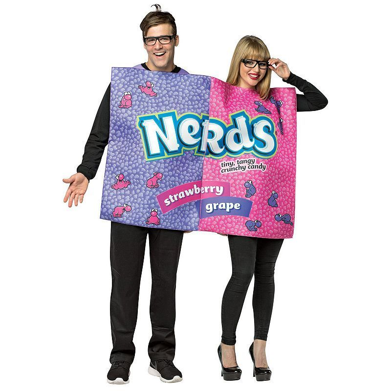 Adult Nerds Candy Couple Costume, Adult Unisex, Size standard - halloween couples costumes ideas