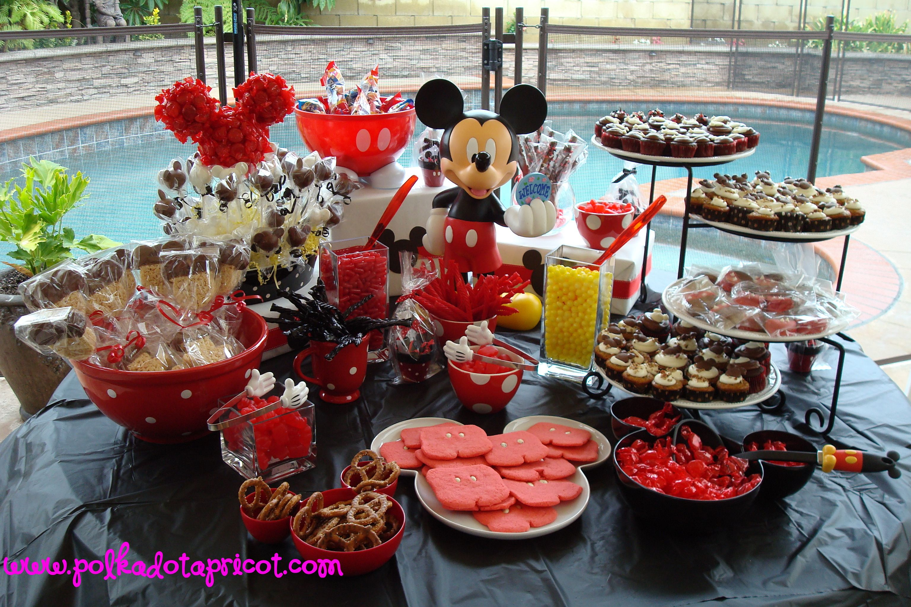 Disney Themed Candy Buffet Disney Wedding Candy Bar Mickey Mouse Desserts Mickey Mouse Baby Shower
