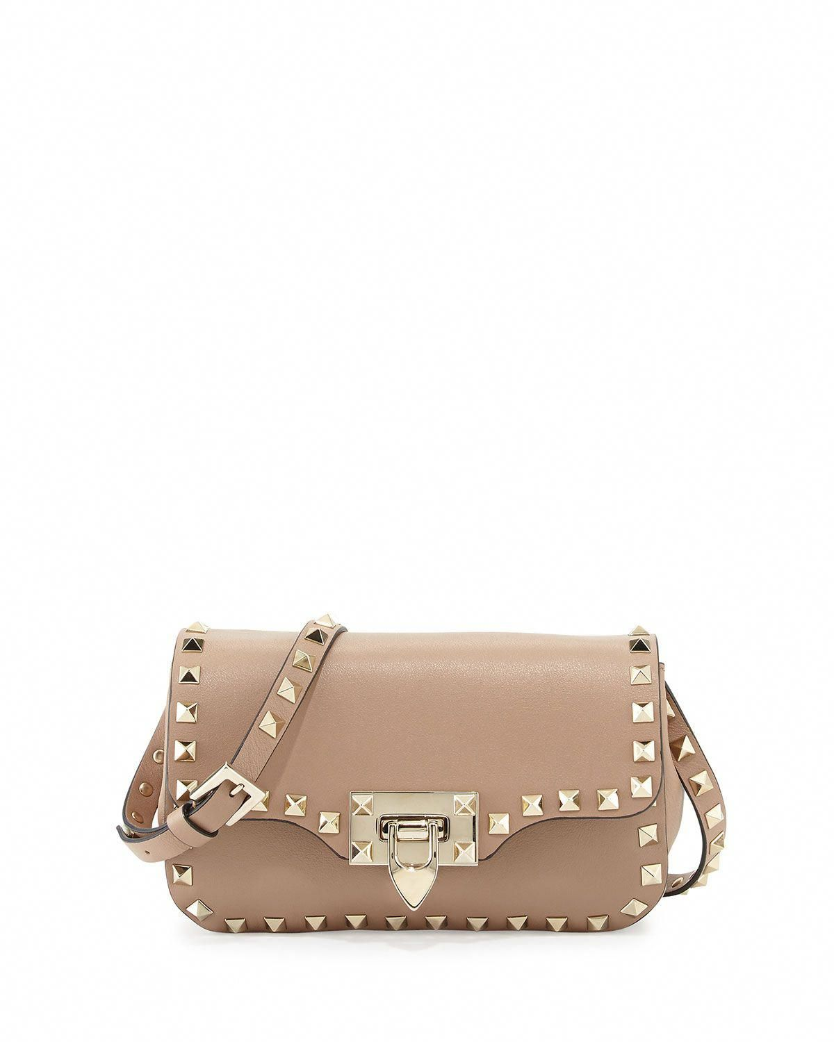 bfb28e3999 Valentino Rockstud Mini Leather Crossbody Bag