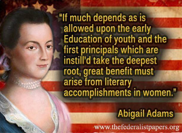 Abigail Adams Quotes 2