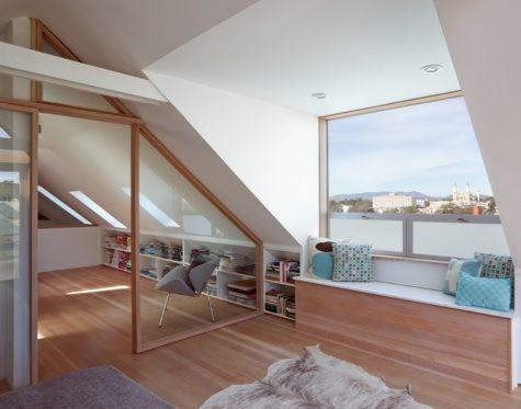 Architect Visit Mork Ulnes In San Francisco On The Aia Tour Remodelista Loft Spaces Victorian Homes Loft Conversion