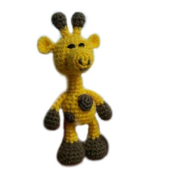 Amigurumi To Go: Crochet Poco Bigfoot Giraffe (patrón amigurumi ...