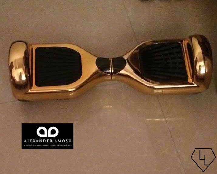This $350,000 Luxury Scooter is Made of Solid 18-Carat Gold #luxury trendhunter.com