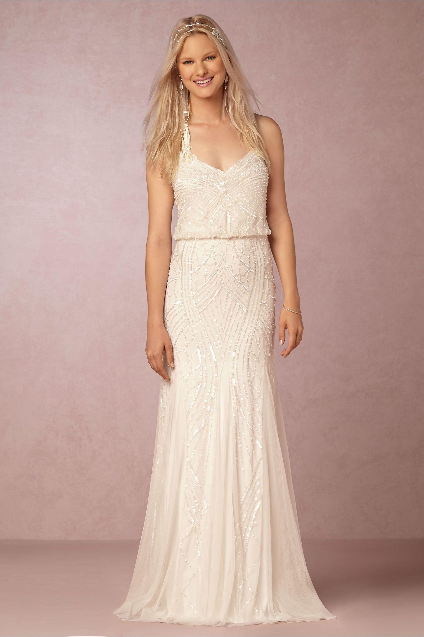 BHLDN Grazia Dress in Bride Reception & Rehearsal Dresses at BHLDN ...
