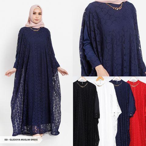 Trend Baju Gamis Model Terbaru Di Lebaran Idul Fitri 2019 Baju Muslimah Yang Ada Pada Gambar Di Atas Merupakan Model Layering Model Pakaian Baju Muslim Gaun