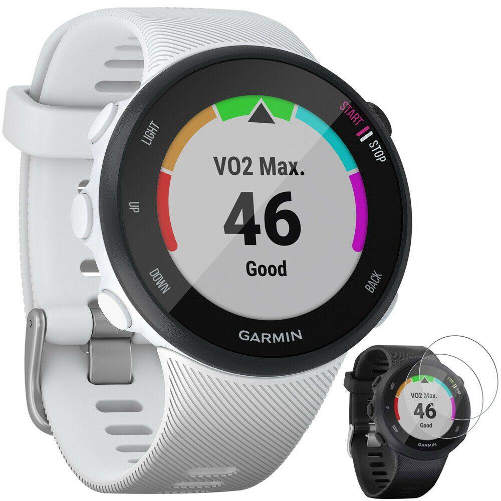 Garmin Forerunner 45S GPS Running Watch 39mm White Deco