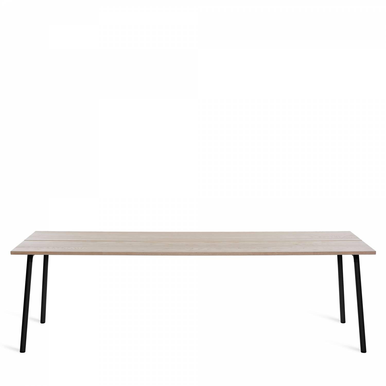 Awe Inspiring Emeco Run Table 96 Black Frame Furniture Table Cafe Creativecarmelina Interior Chair Design Creativecarmelinacom