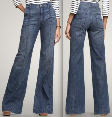 WANT: High-waist, wide-leg jeans | Pants, The killers and Wide leg ...