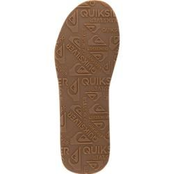 Photo of Quiksilver men's shoes toe sandals, synthetic leather, black QuiksilverQuiksilver